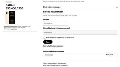 How to retrieve blocked text messages verizon