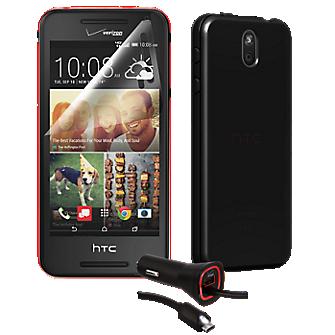 Silicone Case Bundle for HTC Desire 612