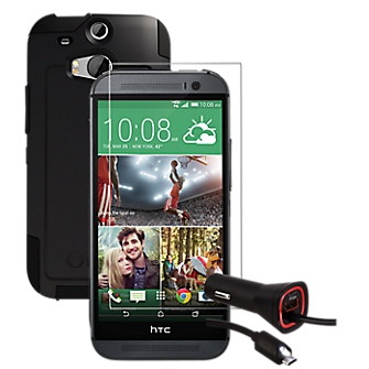 Tempered Glass Bundle for HTC One (M8)