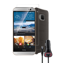 Protection Bundle for HTC One M9 - Gray