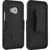 Shell Holster Combo with Kickstand for HTC One M9