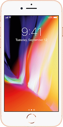Apple iPhone 8 New, 64GB - Low Monthly $24.99, Free Shipping