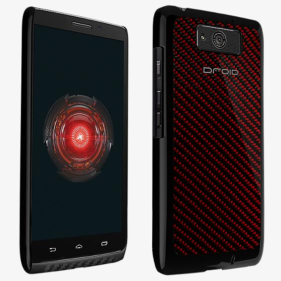 Hard Shell Case DROID MAXX - Carbon Fiber