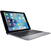 ClamCase+ Keyboard Case for iPad Pro 9.7 - Space Gray
