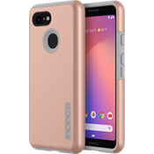 DualPro Case for Pixel 3 - Iridescent Rose Gold/Gray
