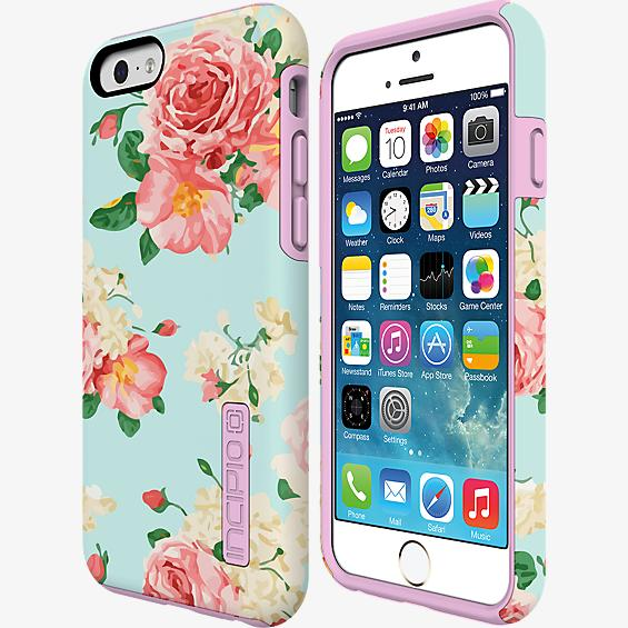 DualPro Prints for iPhone 6/6s - Mint Rose