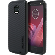 DualPro Case for moto z2 force edition - Carbon Fiber/Black