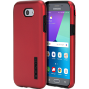 DualPro Case for Galaxy J3 Eclipse - Iridescent Red/Black