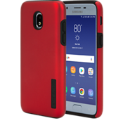 DualPro Case for Galaxy 3rd Gen J3/J3V - Iridescent Red/Black