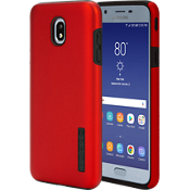 DualPro Case for Galaxy 2nd Gen J7/J7V - Iridescent Red/Black