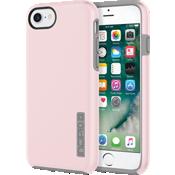 DualPro Case for iPhone 7 - Iridescent Rose Quartz/Gray