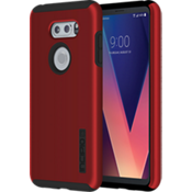 DualPro Case for LG V30 - Iridescent Red/Black