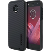 DualPro Case for Moto Z2 Play - Carbon Fiber/Black