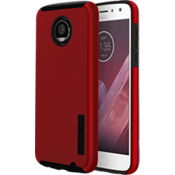 DualPro Case for Moto Z2 Play - Iridescent Red/Black