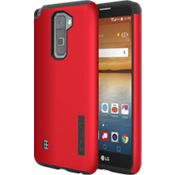 DualPro Case for Stylo 2 V - Iridescent Red/Black