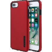 DualPro Case for iPhone 8 Plus/7 Plus/6s Plus/6 Plus - Iridescent Red/Black