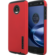 DualPro Case for Moto Z Droid - Iridescent Red/Black