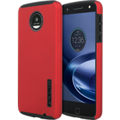 DualPro Case for Moto Z Force Droid - Iridescent Red/Black