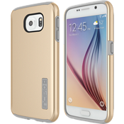 DualPro Case for Samsung Galaxy S 6 - Gold/Gray