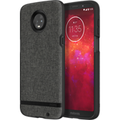 Esquire Series Case for moto z3 - Gray