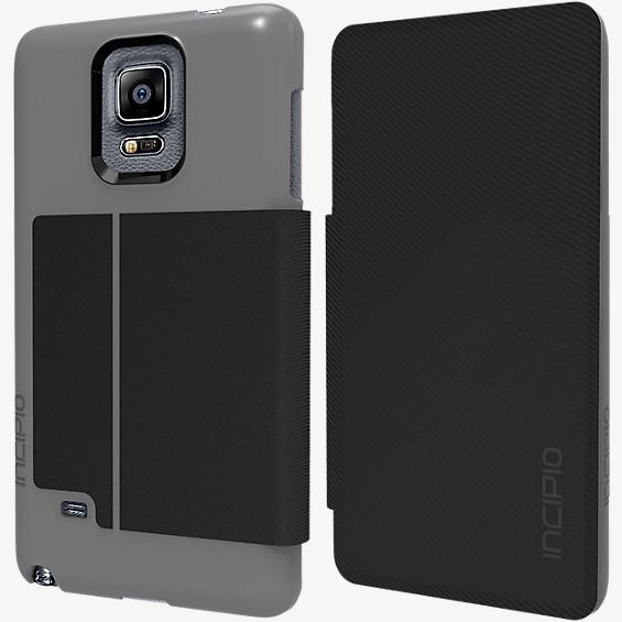 Highland for Galaxy Note 4 - Dark Silver Black