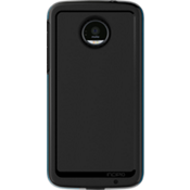 Performance Series Level 4 Case for Moto Z Force Droid - Black/Cyan