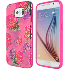 Incipio RIVAL CHROME for Samsung Galaxy S 6 - Floral/Gold