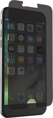 reputable site 950b8 5bb12 InvisibleShield Privacy Glass+ for iPhone 8/7/6s/6