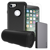 OtterBox Defender Power, Protection & Stereo Bundle for iPhone 8/7