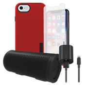 Incipio DualPro Power, Protection, & Stereo Bundle for iPhone 8/7/6s/6