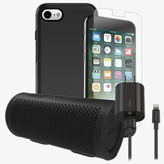 OtterBox Symmetry Power, Protection, & Stereo Bundle for iPhone 8