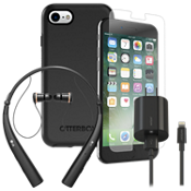 OtterBox Symmetry Power, Protection, & Headset Bundle for iPhone 8/7