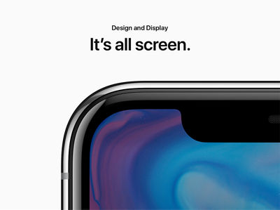 Design and Display: It's all screen.