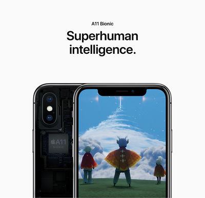 A11 Bionic: Superhuman intelligence.