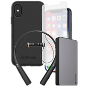 OtterBox Defender Power, Protection, & Headset Bundle for iPhone X