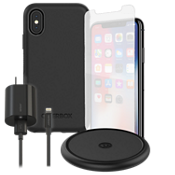 OtterBox Symmetry Wireless Charging, & Protection Bundle for iPhone X