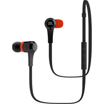 JBL J46BT Bluetooth Wireless In-Ear Stereo Headphones - Black