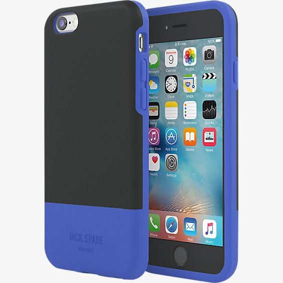 Color-Block Case for iPhone 6/6s - Fulton Black/Blue