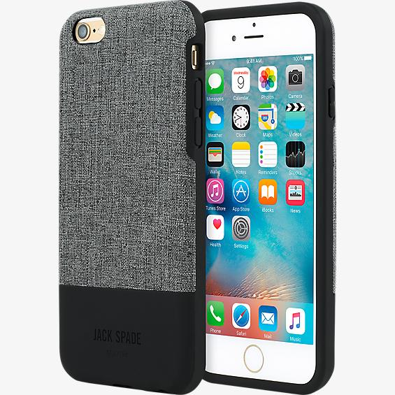 Color-Block Case for iPhone 6 Plus/6s Plus - Tech Oxford Gray/Black