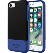 Credit Card Case for iPhone 7 - Fulton Black/Blue