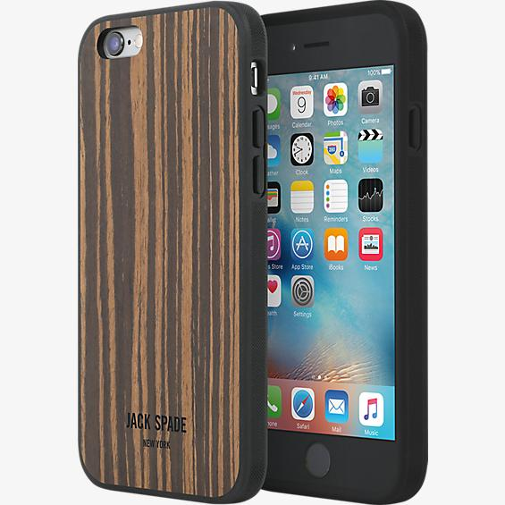 Wood Case for iPhone 6/6s - Wood Veneer Macassar Ebony