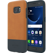 Color-Block Case for Galaxy S7 - Fulton Tan/Navy