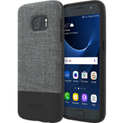 Color-Block Case for Galaxy S7 - Tech Oxford Gray/Black