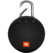JBL Clip 3 portable bluetooth waterproof speaker - Black