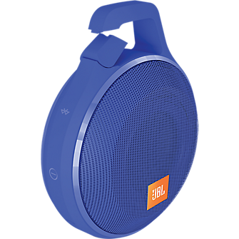 Clip+ Splashproof Bluetooth Speaker - Blue