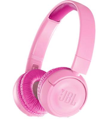 Kids Bluetooth On Ear Headphones Pink