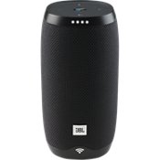 Link 10 Voice-Activated Speaker - Black