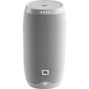 Link 10 Voice-Activated Speaker - White