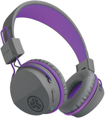 JBuddies Studio Wireless Kids Headphones Grey/Purple
