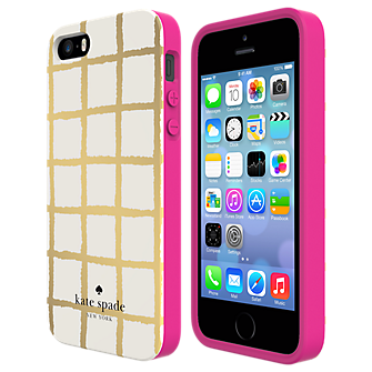 Flexible Hardshell Case for iPhone 5/5s - Painterly Check